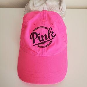Pink Victoria secret hot pink hat